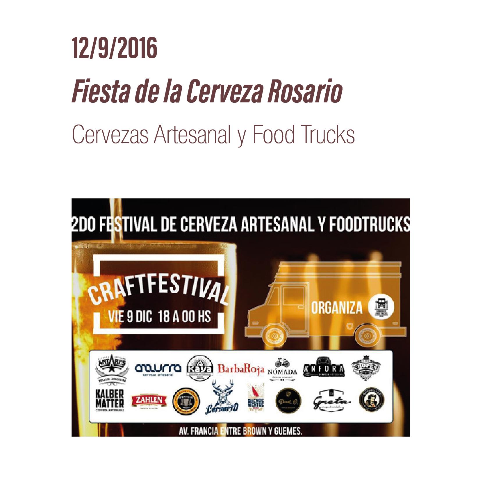 Fiesta de la Cerveza Rosario