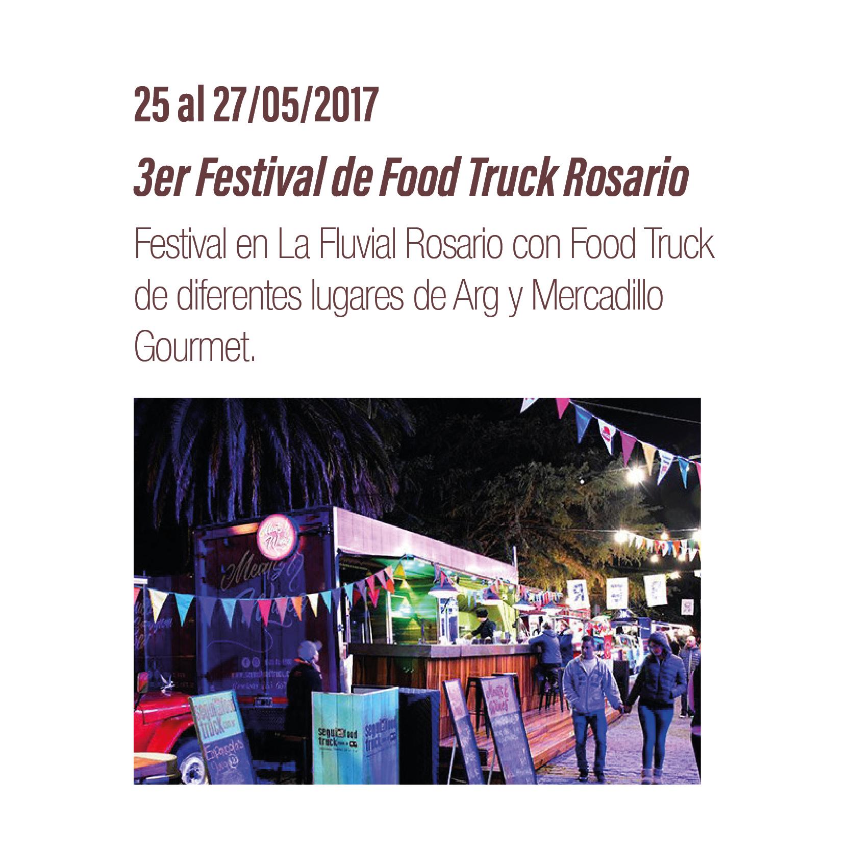 3er Festival Foodtrucks Rosario