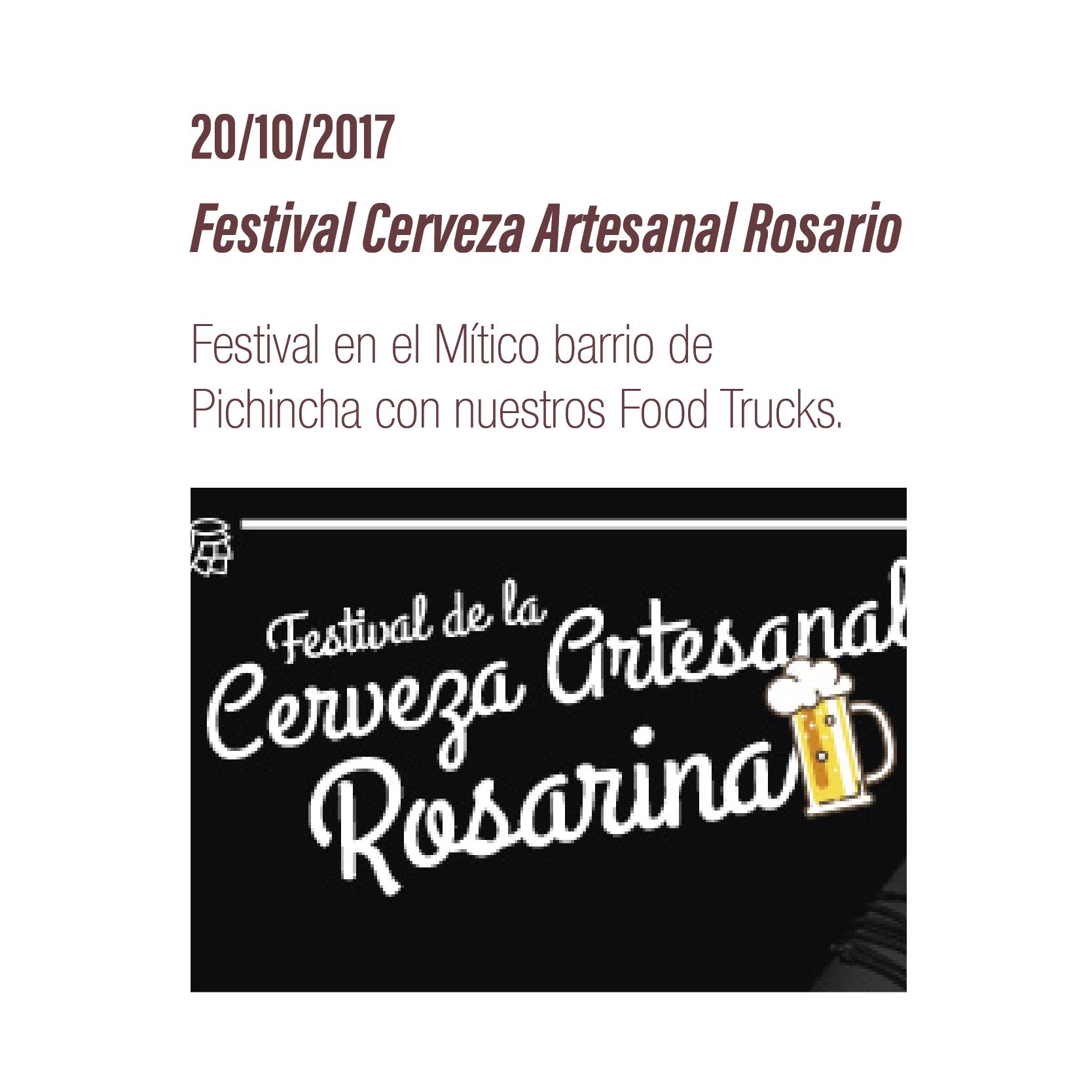 Festival Cerveza Artesanal Rosario